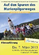 """Filmvorführung """"Auf den Spuren des Marienpilgerweges"""""""