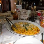 Mittagessen vom Feinsten in Nimis