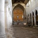 Besuch in der mittelalterlichen Kathedrale von Aquileja mit dem bedeutendsten frühchristlichen Fußbodenmosaik Italiens vom Anfang des 4. Jahrhunderts