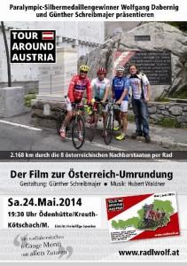 """Ankündigung Filmpräsentation """"Tour Auround Austria"""""""