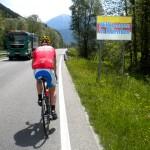 Wiedereintritt in Kärnten vor Oberdrauburg
