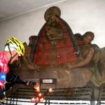 Dankeskerzen werden in Maria Luggau entzündet