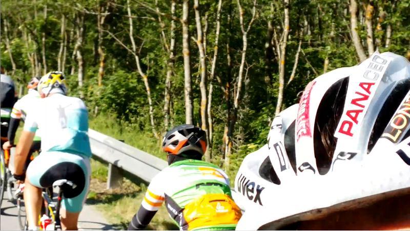 Michael Kurz und Radlwolf begleiten die Charityradler der Ski-Akademie Schladming durch das Mölltal