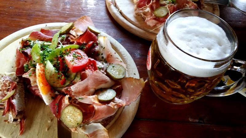 Mittagspause in Pobersach - Nähe Feistritz/Drau