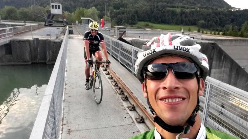 Übergang Drau-Kraftwerk Annabrücke