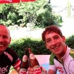 1. Bierpause bei Veronika`s Radlertreff in Gajach