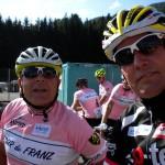 Trainingpartner Kurt Strobl fiebert auch schon dem Start entgegen
