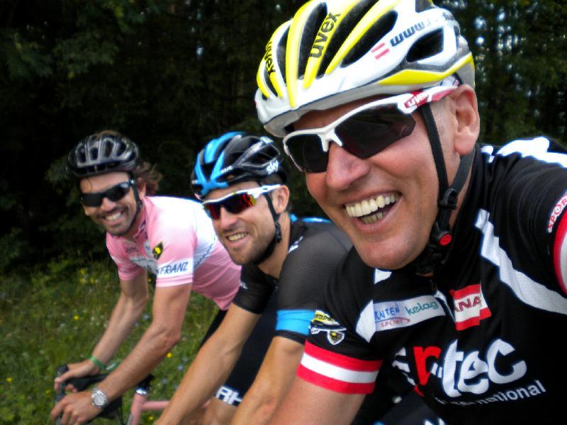Rene Haselbacher, Berni Eisel und Radlwolf