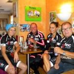 Mit einem Frühstück beim Matitz in Kötschach begann das Unternehmen Polizengams