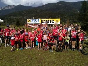 Foto: Sabrina Zankl / Die Teilnehmer der 12. OSK MTB-Vereinsmeisterschaft