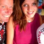 Der Höhepunkt der Radtour war die Pause bei Ulica in der BAR AL TIGLIO in Togliano