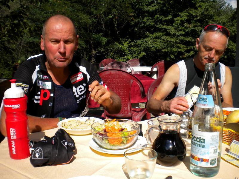 Mittagessen vom Feinsten in Bordano