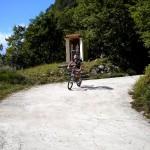 Michi auf der rasanten Abfahrt