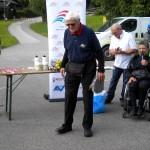 Adi Klingberg ältester Tln. mit 89 Jahren und Vorbild für alle