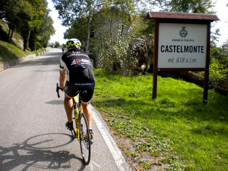 Castelmonte ist erreicht
