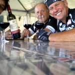 auch der hervorragende Wein der Region wurde bei der Radtour verkostet