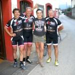den Abschluss der Tour machten die Radler bei Ulica in der BAR AL TIGLIO in Togliano
