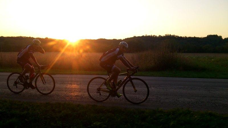 beim Sonnenuntergang/ foto©Michi Kurz/