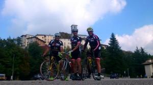 foto©Michi Kurz/ Kurt, Michi und Radlwolf im bedeutendsten Wallfahrtsort Norditaliens Castelmonte