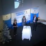 Eröffnung des Olympiazentrums Kärntens durch Landeshauptmann Peter Kaiser