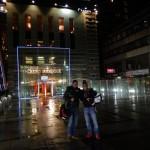 Ankunft im Hilton Innsbruck
