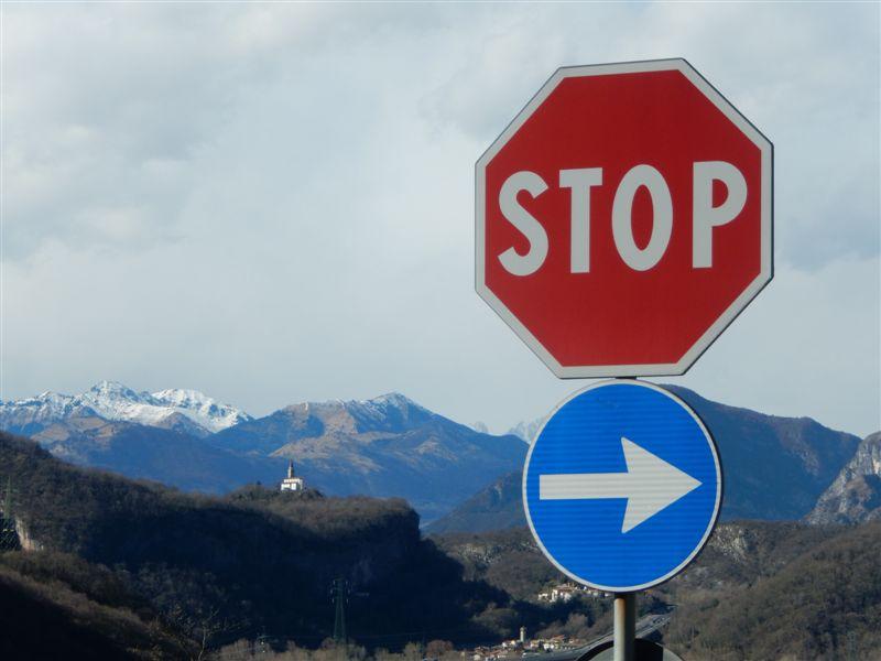 heimwärts den Karnischen Alpen entgegen