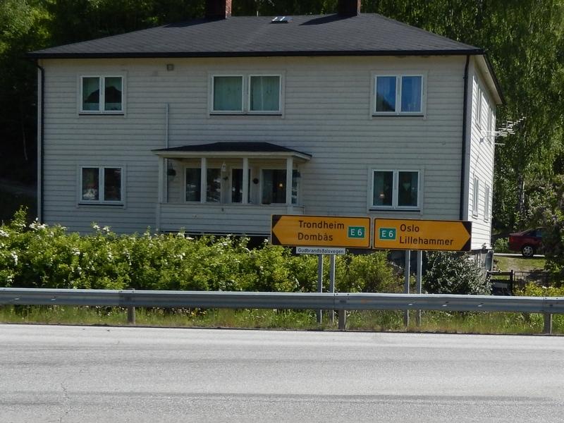 Richtung Oslo