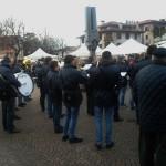 Platzkonzert in Tarcento beim Befana-Fest
