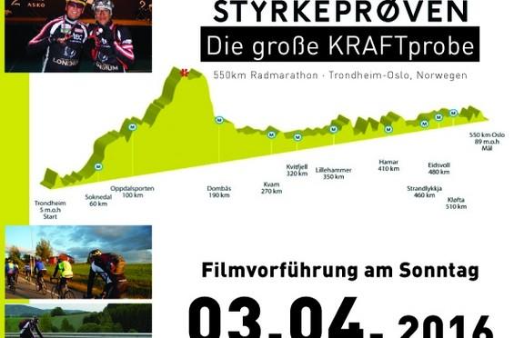 """Filmvorführung Wolfgang Dabernig und Michael Kurz """"die große KRAFTprobe"""" in St. Lorenzen/Les."""