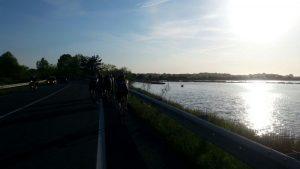 Die letzten Kilometer Richtung Grado
