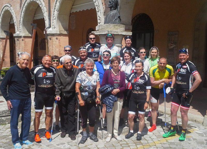Die Teilnehmer des Radkurses Cesenatico 2016