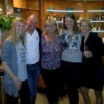 v.l. Alice, Radlwolf, Silvia, Johanna und Tanja