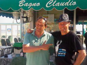 den letzten Cappuccino bei Claudio und auf Wiedersehen bis zum nächsten Jahr!