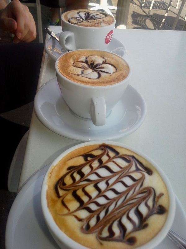 einen Cappuccino der besonderen Art