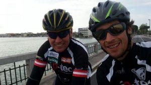 """Radlwolf und Michi freuen sich auf rege Teilnahme beim """"2. Radeln für den guten Zweck"""""""