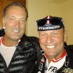 Radlwolf mit der deutschen Abfahrtslegende Michael Veith
