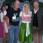 Radlwolf, Olympiasiegerin Andrea Fischbacher und Franz Klammer