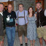 beim Abschied Franz Klammer, Radlwolf, Klaus Mamedof mit den Organisatoren Karin Pucher und Ronny Hohenberger