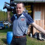 Gerd Lipicer filmt für Kärnten Heute und KÖMAU-TV
