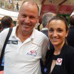 Radlwolf mit Segel-Olympionikin und Weltmeisterin Lara Vadlau