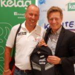 Radlwolf mit Landessportdirektor Mag. Arno Arthofer