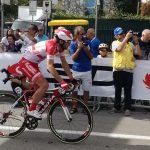 Start des späteren Siegers Francesco Gavazzi