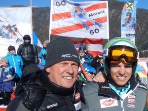 Radlwolf mit Doppel Paralympicsieger und Vierfach Weltmeister Markus Salcher