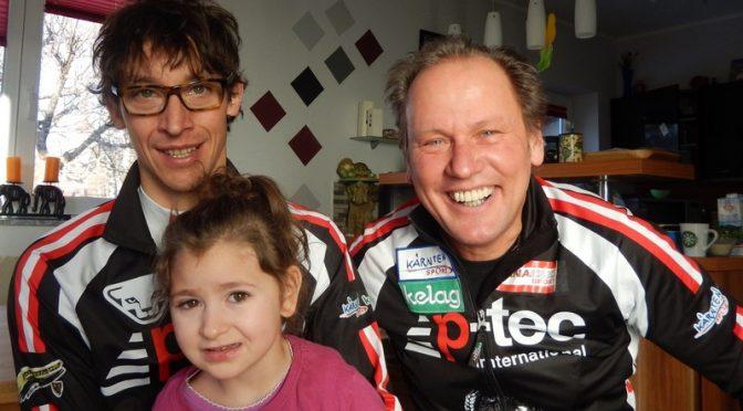 Michi Kurz und Radlwolf helfen der kleinen Lena