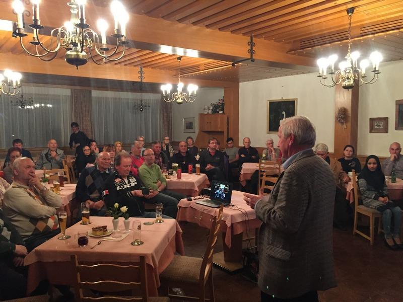 VIFOG Obmann Stellvertreter Werner Unterlaß stellt den Verein vor