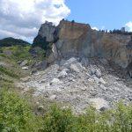 Der Felssturz von San Leo 2014