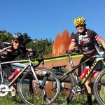 """Michi und Radlwolf freuen sich auf rege Teilnahme beim """"3. Radeln für den guten Zweck"""""""