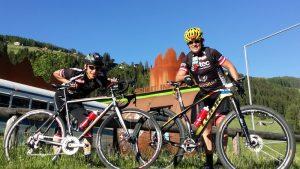 """Michi und Radlwolf freuen sich auf rege Teilnahme beim """"4. Radeln, Laufen und Wandern für den guten Zweck"""""""