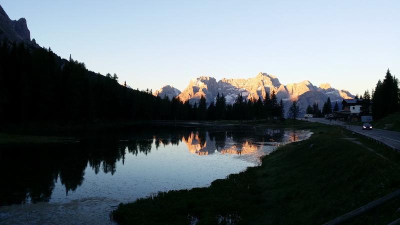 in den Dolomiten
