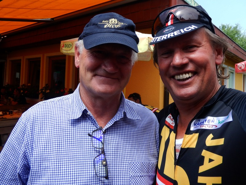 """auch Michl Klammer darf bei der """"Tour de Franz"""" nicht fehlen"""